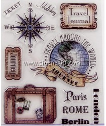 Clear Stamp, Parin Rome Berlin, Sold individually