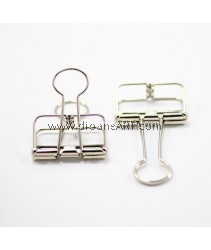 Binder Clips, Silver Colour, Size-Medium 3.3x5.5cm, 1 /pack