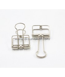 Binder Clips, Silver Colour, Size-Small 4.2x2.2cm, 2/pack