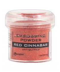 EMB ANTIQ 1OZ - RED CINNABAR