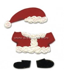 Sizzix Bigz Die - Animal Dress Ups Santa Outfit