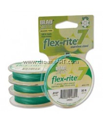 FLEX-RITE, 7 STRAND, 0.018, Green, 30ft