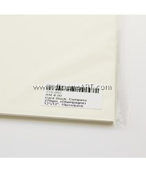 Card Stock, Compass 270gm, (Champagne) 12x12