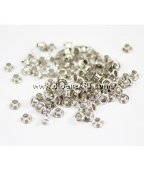 Eyelet, Silver Colour, 4.4mm, 100 pcs/pack