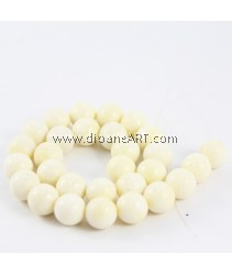 Natural Coral Beads, Nuggets, Sponge Coral, Yellow, around 14mm, Hole: Approx 1~2mm, Length: 15Inch, pack/1strand