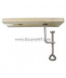 Bench Pin with V-slot Clamp, Sold per set