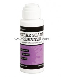 CLEAR STAMP CLEANER - 2OZ DABBER