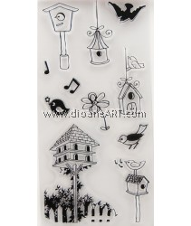 Clear Stamp, Garden1, Sold individually