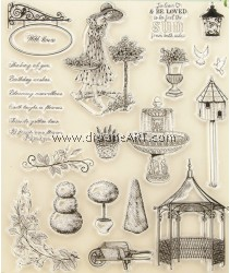 Clear Stamp, Garden3, Sold individually
