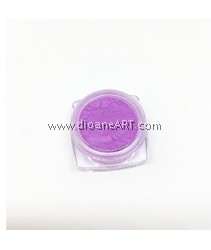 Glow-in-the-Dark powder for Resins, Colour: Fluorescent Purple, around 12g/container