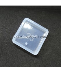 Silicone Molds, Square Shape Pendant, 25x25mm, 1pcs/pack